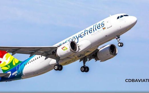 Air Seychelles gets Africa's First A320neo from CDB Aviation