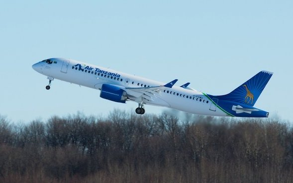 Air Tanzania becomes first African-based A220 operator