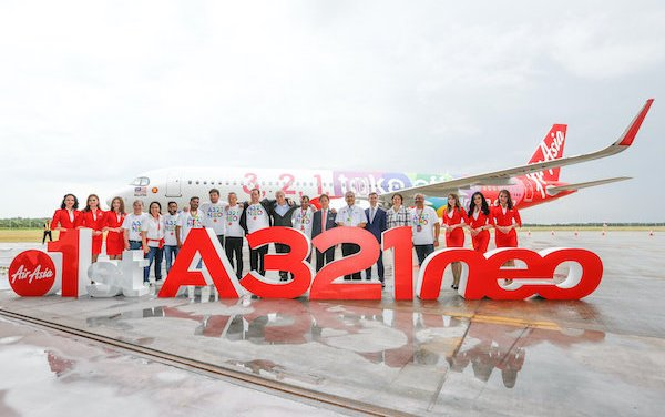 AirAsia officially welcomes its first Airbus A321neo