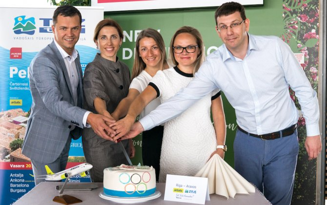 airBaltic and Tez Tour Latvija Launches Charter Flights to Peloponnese and Marche