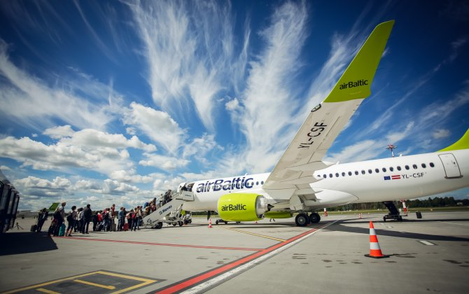 airBaltic Carries 500 000 Passengers on Bombardier CS300