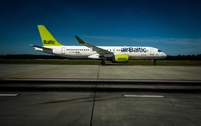 airBaltic Carries Over 450 000 Passengers in July