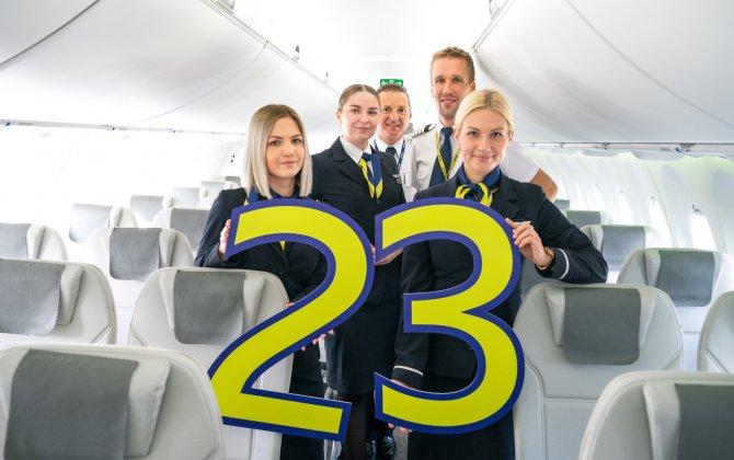 airBaltic Celebrates 23 Years in the Air