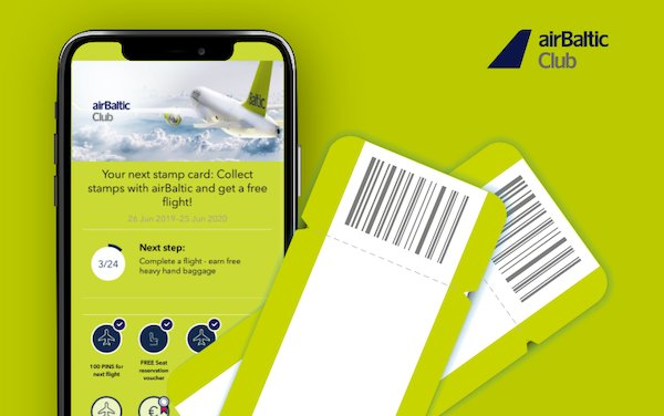 airBaltic Club Integrates PINS Loyalty Program