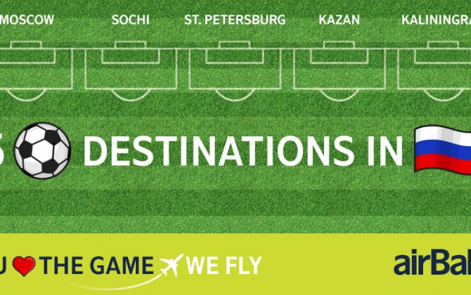 airBaltic Flies to 5 Football Destinations in Russia