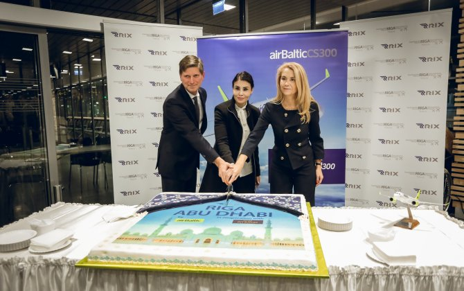 airBaltic launches direct flights between Riga and Abu Dhabi