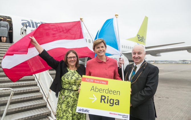 airBaltic Launches Flights Between Riga and Aberdeen