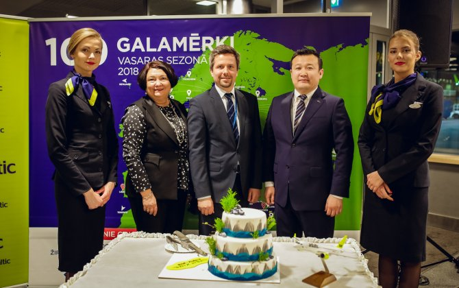 airBaltic Launches Flights from Riga to Almaty