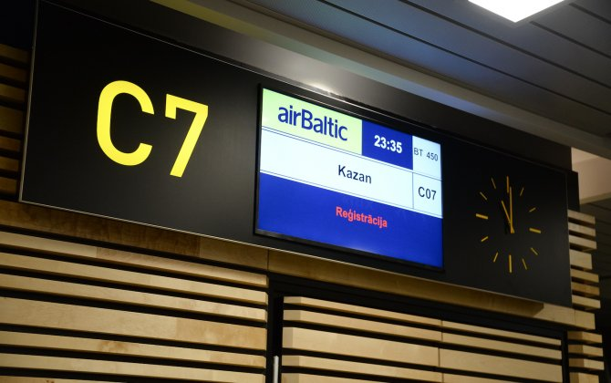 airBaltic Launches Riga – Kazan