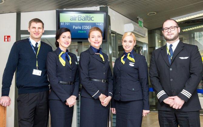 airBaltic Launches Vilnius – Paris