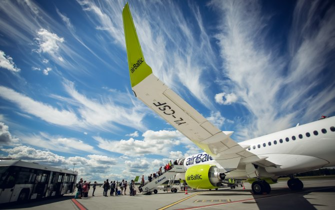 airBaltic Performs 14 324 Flights During Three Summer Months