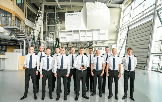 airBaltic Pilot Academy's Second Group of Students Begin Studies