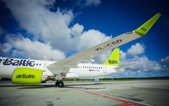 airBaltic Receives Fourth CS300 Aircraft