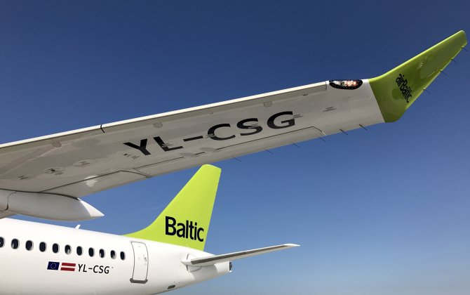 airBaltic Welcomes Seventh CS300 in Riga