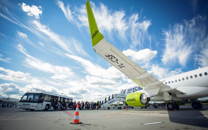 airBaltic's Sixth CS300 Sets a New World Record