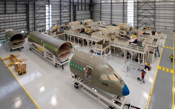Airbus A220 production facility in the U.S.officially opened