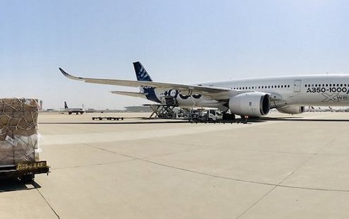 Airbus A350-1000 deployed in fight against COVID-19