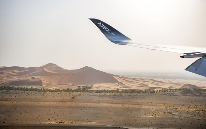 Airbus A350-1000 successfully completes hot weather test at Al Ain airport