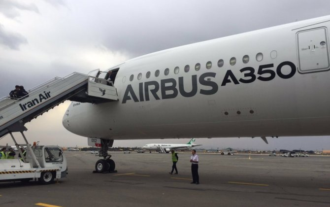 Airbus A350 makes 'symbolic' first landing in Iran