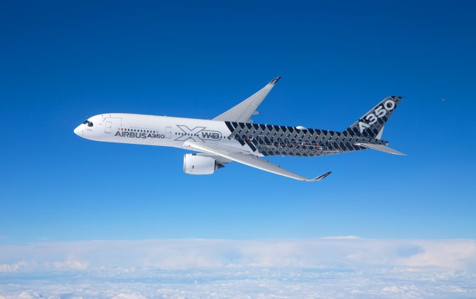 Airbus A350 XWB starts its China tour with debut at Zhuhai Airshow