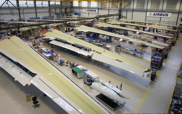 Airbus adapts commercial aircraft production and assembly activities: COVID-19
