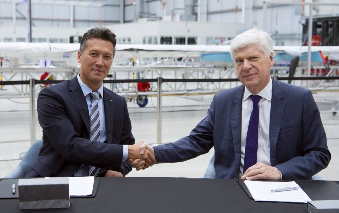 Airbus and International SOS sign MOU on drone cargo delivery systems