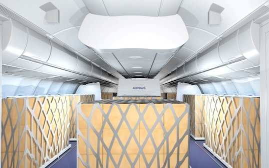 Airbus and Lufthansa Technik partner to offer temporary Cargo in the Cabin solutions