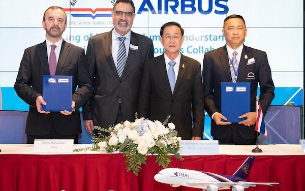Airbus and Thailand's CATC to work on pilot, maintenance training