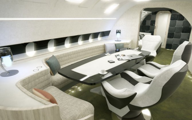 Airbus Corporate Jets brings new look to large-cabin design