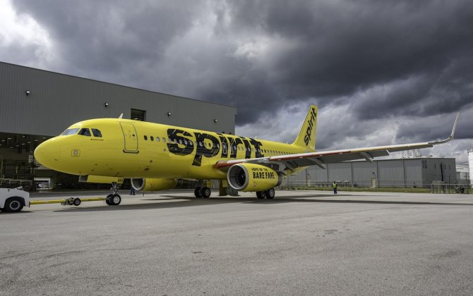 Airbus delivers first U.S.-produced A320 to Spirit Airlines