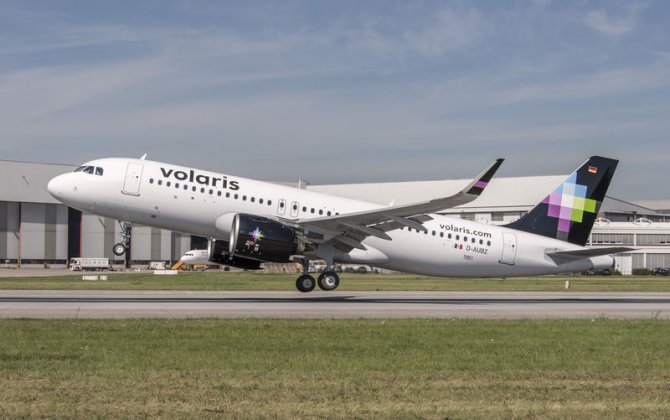 Airbus delivers North America's first A320neo to Volaris