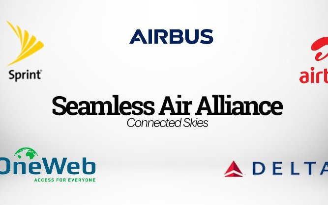 Airbus, Delta, OneWeb, Sprint, Airtel Announce the Formation of Seamless Air Alliance