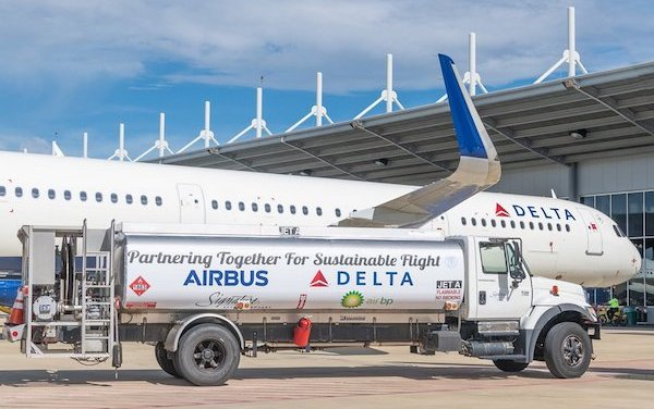 Airbus expands its aircraft deliveries using sustainable jet fuel blends