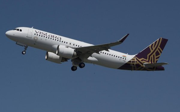 Airbus' FHS-TSP solution to maintain  Vistara A320 fleet