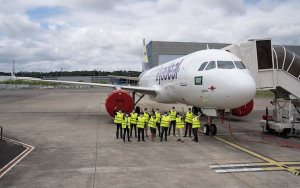 Airbus  & flyadeal - the 1,000th aircraft covered by Flight Hour Services