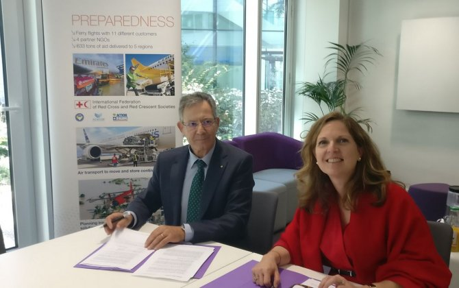 Airbus Foundation and the Spanish Red Cross Association to promote the Flying Challenge project