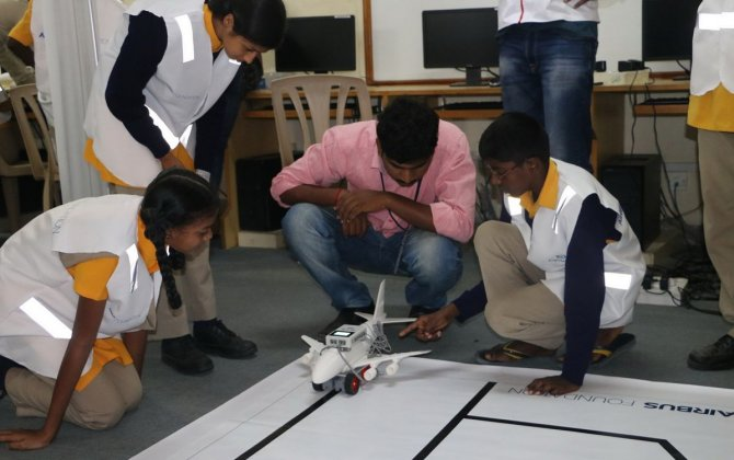 Airbus Foundation launches The Little Engineers programme in India to inspire young minds