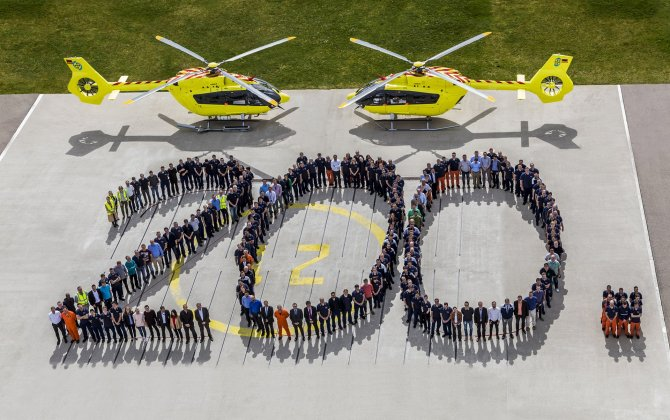Airbus Helicopters delivers 200th H145 helicopter to Norsk Luftambulanse