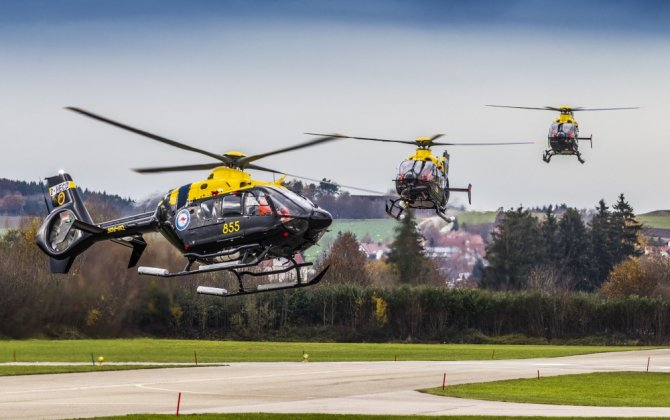 Airbus Helicopters delivers final EC135 T2+ for Australian military training program