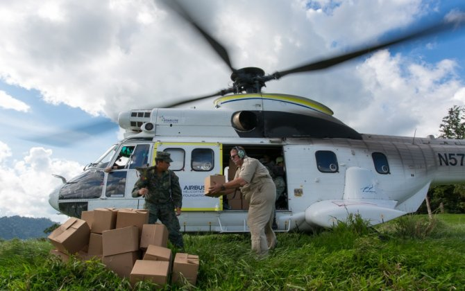 Airbus Helicopters Foundation supports Ecuador after the earthquake disaster