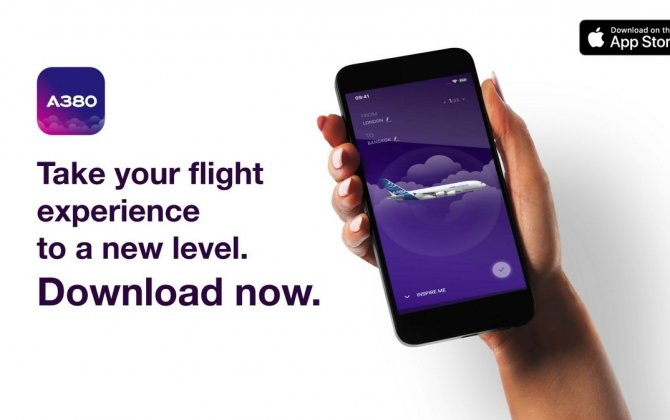 Airbus launches iflyA380 augmented reality iOS app taking passengers' experience to a new level