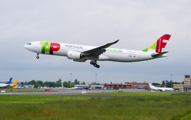 Airbus' newest widebody A330neo in Mauritius for the first time