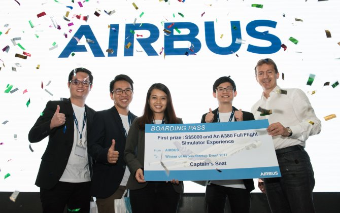 Airbus organises start-up event in Singapore