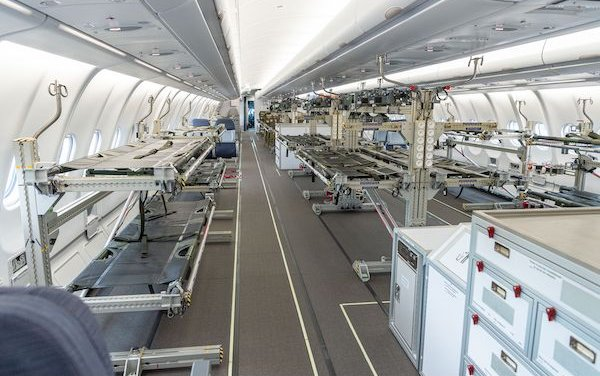 Airbus proposes MEDEVAC conversion of passenger aircraft