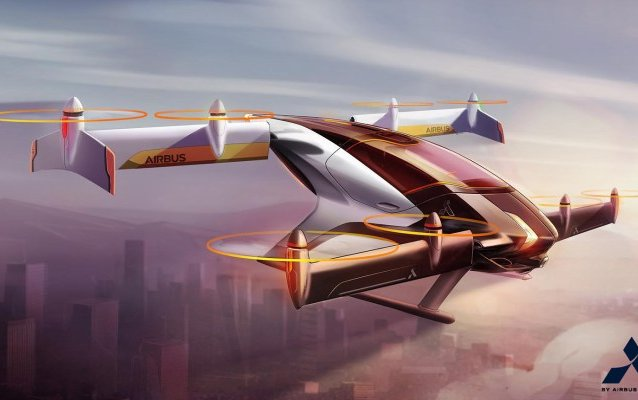 Airbus' Self-Flying Electric Robo-Taxi Might be the Answer for Future Air Transportation