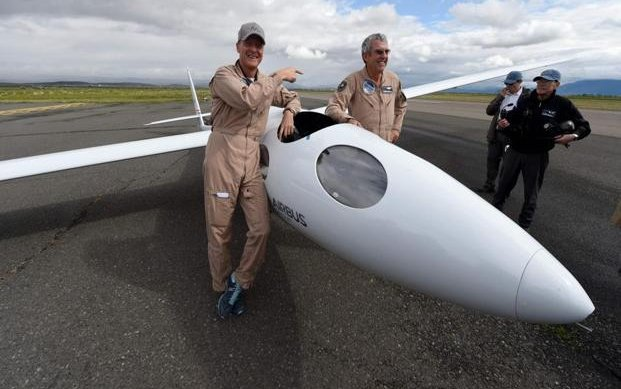Airbus sets sights on the stratosphere with glider flight