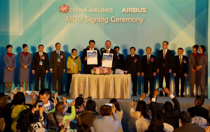 Airbus signs MoU with Taiwan's China Airlines to develop its Maintenance, Engineering and Training capabilities