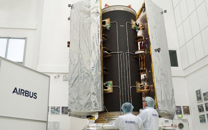 Airbus successfully tests Dispenser Structure for GRACE-FO satellites