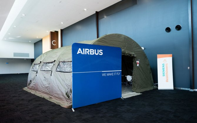 Airbus to showcase deployable hospital at AMMA Conference