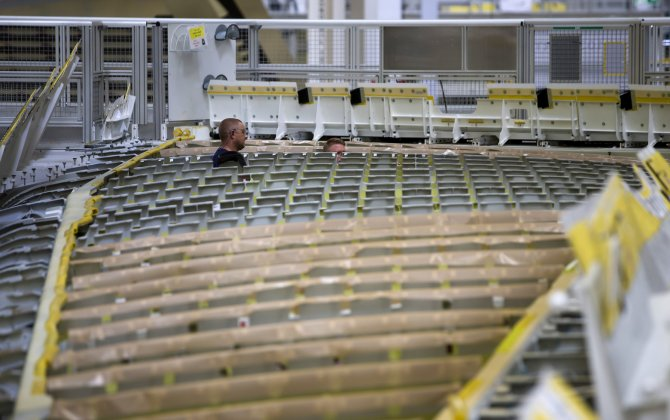 Airbus wing plant is a model of robotic technology